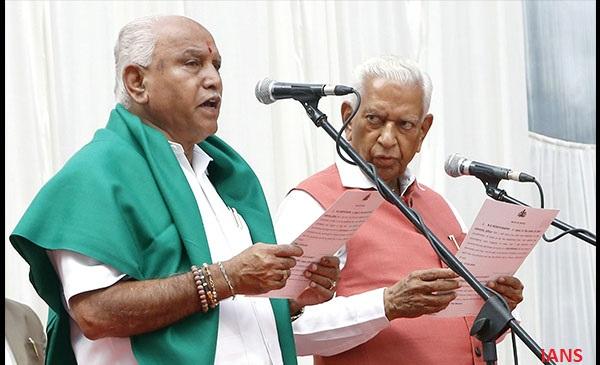 Karnataka election, Yeddyurappa