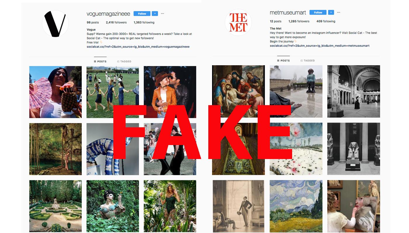 Fake Instas