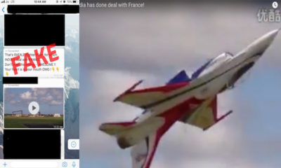 Viral Video Of Fighter Jet Performing Stunts Is Not A Rafale