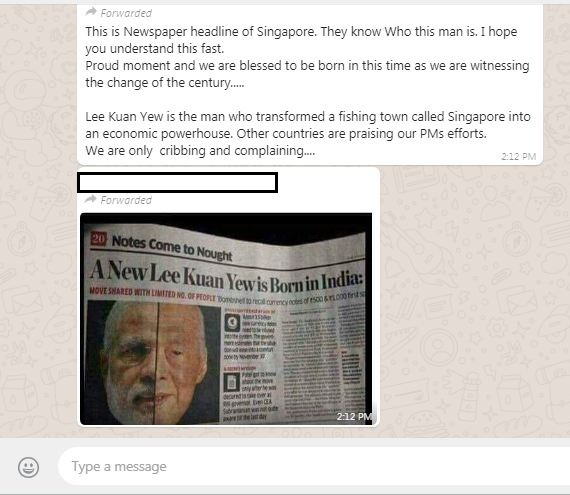 Viral Fake News Screenshot Montage: Did A Newspaper In Singapore Say 'A New Lee Kuan Yew Is