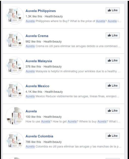 Auvela skin care