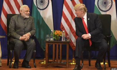 Modi and Trump discuss Afghanistan