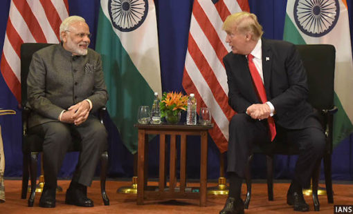Modi and Trump discuss Afghanistan
