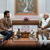 Twitter Adds Majnu Bhai's Painting To Anil Kapoor-PM Modi Meet