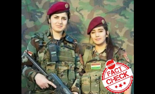 kurdish army women