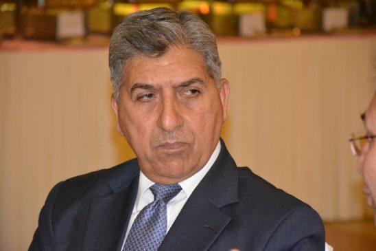 Former Pakistan ISI chief Sujha Pasha