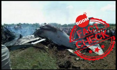 Old Crash Photos Shared As IAF Fighter Jet Shot Down By Pakistan