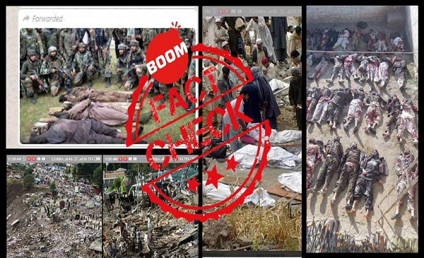 Old Images Falsely Shared As Terrorists Killed In IAF Air Strikes