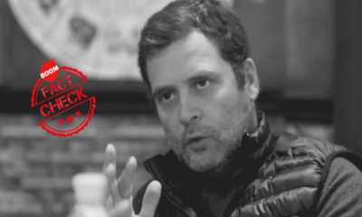 Factchecking Rahul Gandhi's Claim