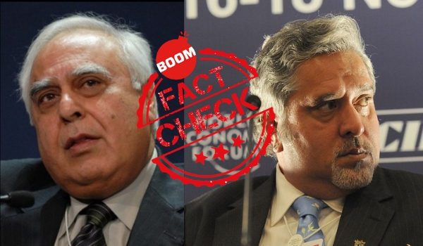 Vijay Mallya Kapil Sibal, satirical quote