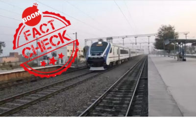 Piyush Goyal Train Video Featured Image