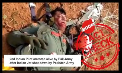 Video Of Injured Surya Kiran Pilot Shared As Captured IAF Pilot