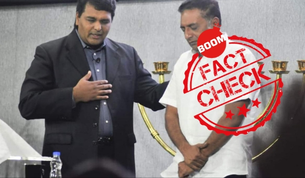 Photo Of Prakash Raj's Visit To A Church Shared With Misleading Context