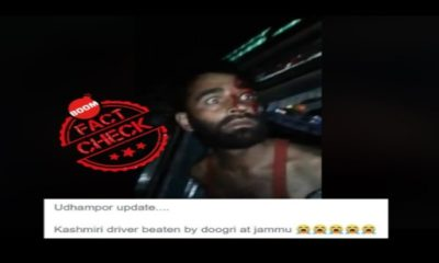 Viral Video Claiming Kashmiri Truck Driver Beaten in Jammu Is From 2018