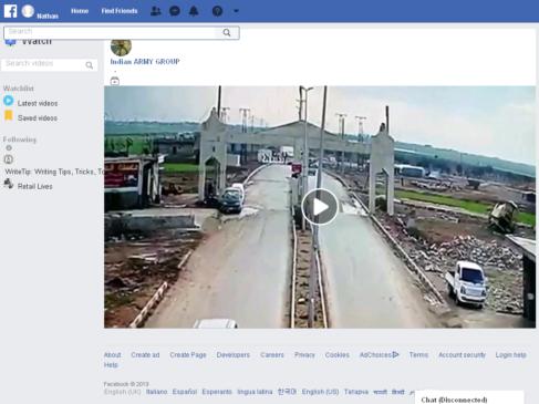 Screenshot of Fb Video blast turkey