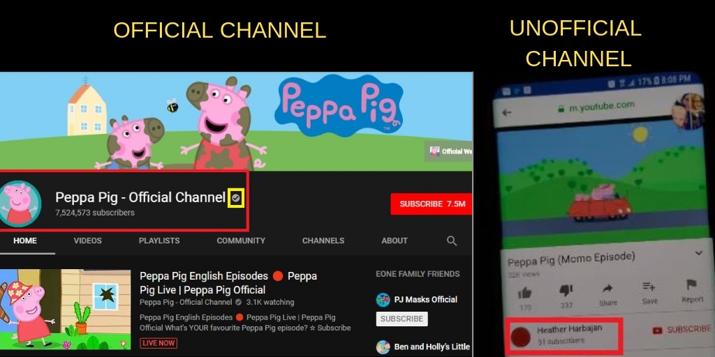 Momo Challenge Appearing In Peppa Pig YouTube Videos? A