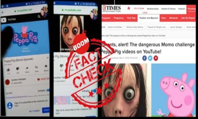 Momo Challenge Appearing In Peppa Pig YouTube Videos? A FactCheck