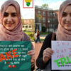 Photoshopped Pic Of A Muslim Woman Holding A Placard Supporting PM Modi Surfaces