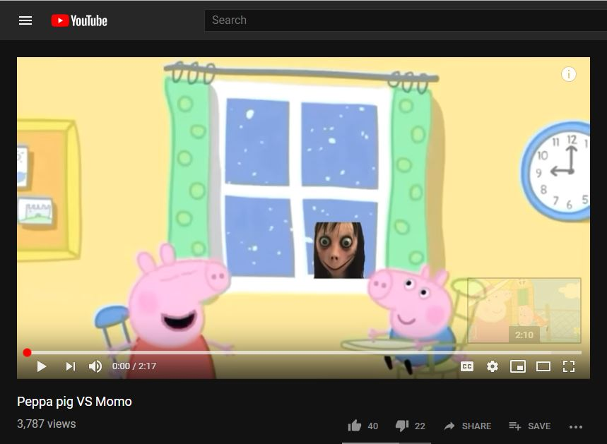 Momo Challenge Appearing In Peppa Pig Youtube Videos A Factcheck Boom