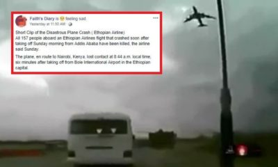 Video Claiming To Capture Ethiopian Plane Crash Is From Afghanistan