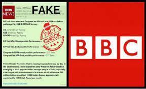 Fake BBC survey predicting Congress win