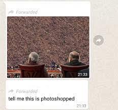 Redit thread on the Modi Shah photoshopped image