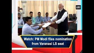 nomination filing rahul gandhi and PM Modi
