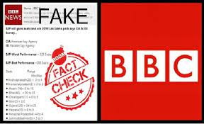BBC Survey Predicting More Than 323 Seats For BJP Is Fake | BOOM
