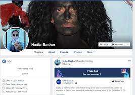 nadia bashar facebook profile