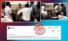 cop thrashed by bjp councillor in meerut