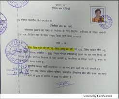 pragya's affidavit