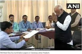 filing nomination paper rahul gandhi and narendra modi
