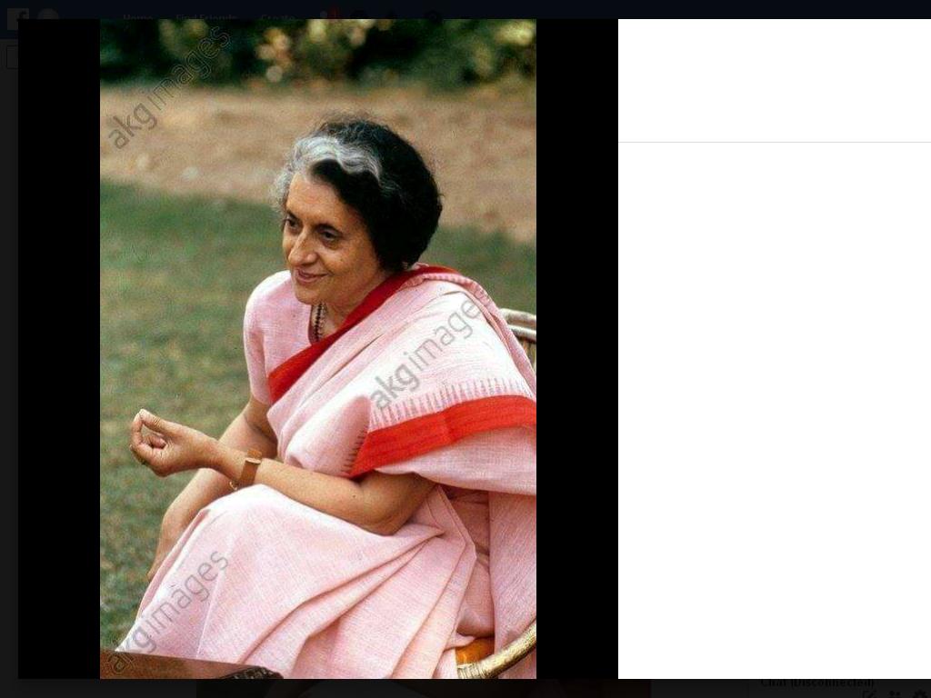Indira Gandhi post claim