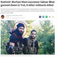 sabzar bhat encounter