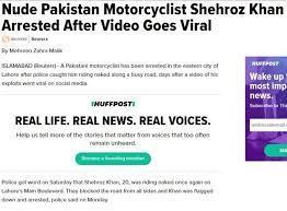 nude stunt in pakistan