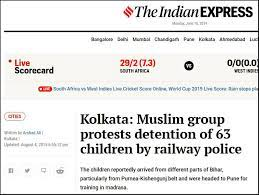 Image shows screenshot of the Indian Express article