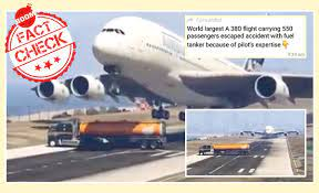 Plane accident averted cgi