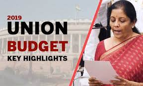 Nirmala Sithraman Budget 2019 Highlights