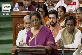 Union Budget 2019 live presented by Nirmala Sitharaman