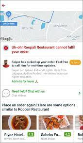Image shows Shukla's conversation with Zomato's customer care, posted on Shukla's Twitter timeline