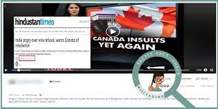 9-Year Old Video Of Canada Refusing Visas To Indian Army
