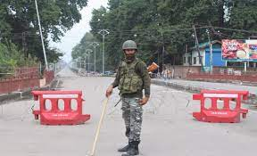 Srinagar on August 15, Independence Day