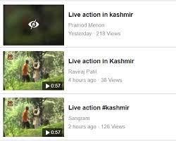 Kashmir fb viral