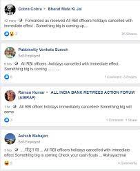 RBI Viral on facebook