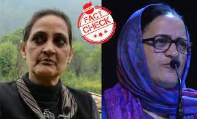 Image shows Jyotsna Singh and Hameeda Nayeem
