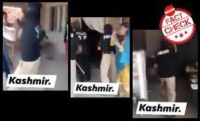 kashmir-police false video