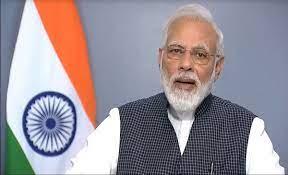Modi Narendra Adressing Media on Article 370