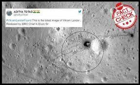 Not vikram lander image