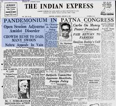 Nehru Indian Express article