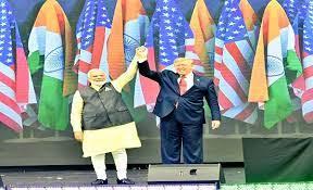 Trump And Modi at Howdy Modi